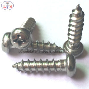 Stainless Steel Pan Head Screw pictures & photos
