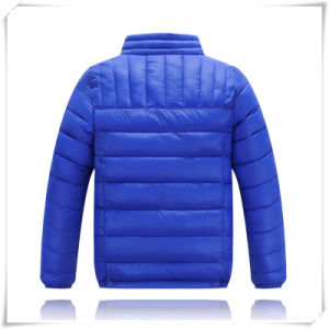 Men′s Winter Good Quality Fake Down Jacket for Children pictures & photos