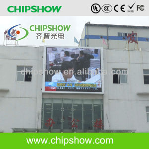 Chipshow P10 Full Color Outdoor Video LED Display Board pictures & photos