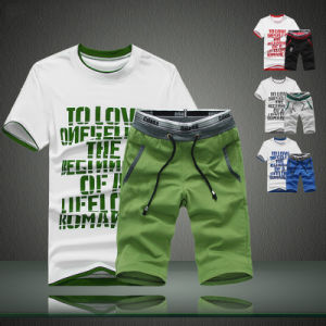 Wholesale Men′s T-Shirt and Shorts Sports Wear pictures & photos