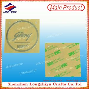 High Quality Adhesive Custom Metal Label for Sale pictures & photos