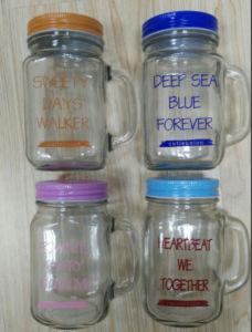 Mason Jar / Glass Jar/ Handle Jar pictures & photos