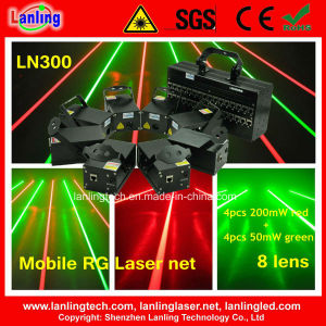 8 Heads Mobile Stage Laser Curtain/Net (LN300) pictures & photos