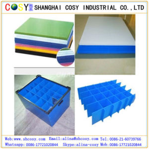 PP Hollow Sheet / Corflute Board for Printing and Packing pictures & photos