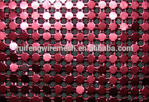 Wall Ceiling Decorative Ring Metal Cloth Curtain/Flake Curtain Mesh pictures & photos