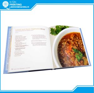 High Quality Hardcover Cookbook Printing with Dust Jacket pictures & photos
