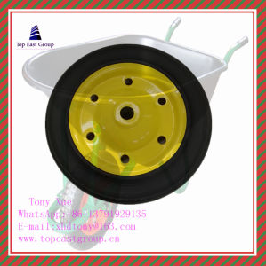 High Quality Solid Rubber Wheel with 300-4, 350-8, 400-8, 500-10 pictures & photos