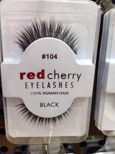 Curler Beautiful Makeup Fake Eyelashes for Girl Red Cherry False Eyelashes pictures & photos