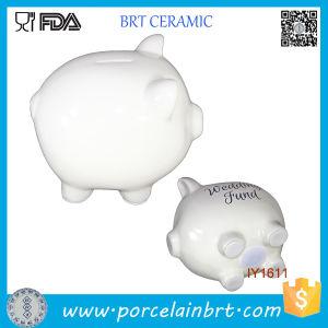 Creative DIY Lovely Piggy Ceramic Coin Bank pictures & photos