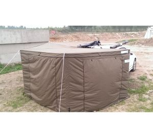 Grow Tent 1-2 Person Mildew Proof 4WD Car Camper Awning in Hard Shell Roof Top Tent pictures & photos