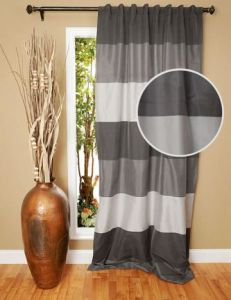 Stripe Jacquard Curtain Window Treatment (C12709) pictures & photos