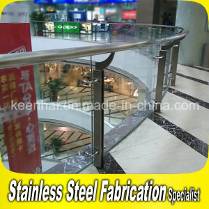 Stainless Steel Glass Balustrade for Interior Handrail pictures & photos