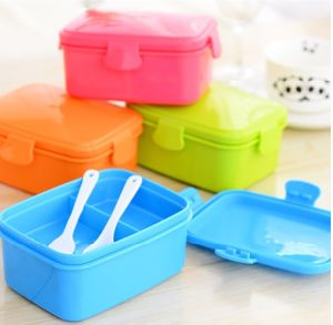Hot Selling Lunch Box with Cutlery Hot Sale Bento Box pictures & photos