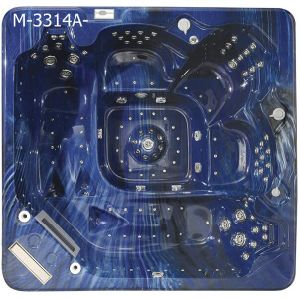 Two Lounge Optional TV Hot Selling SPA Hot Tub (M-3314A) pictures & photos