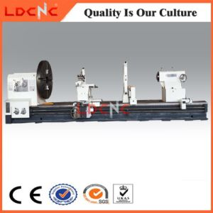 Cw61100 Large Spindle Bore Diameter Manual Universal Horizontal Lathe Machine pictures & photos