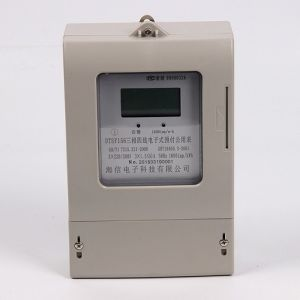 Three Phase Electronic Prepaid Energy Meter pictures & photos