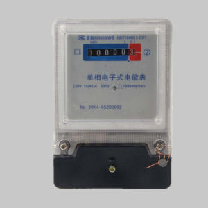 Bottom Connection Reliable Design Electric Energy Kwh Meter pictures & photos