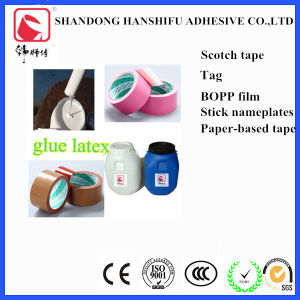 Acrylic Adhesive Water Based Pressure Sensitive Glue BOPP Tape Glue pictures & photos