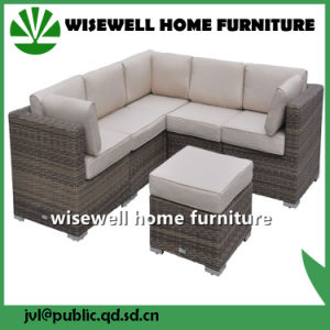 Wicker Patio Garden Furniture Double Bed Chaise Lounge (WXH-024) pictures & photos
