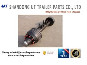 Germany Type 12t 14t 16t BPW Trailer Axle pictures & photos