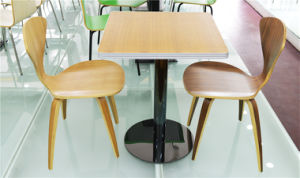 Popular Wooden Dining Table Cafe Furniture (FOH-CXSC47) pictures & photos