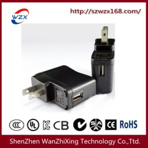 5V 1A USB Charger with USA Plug (WZX-089) pictures & photos