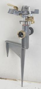 Zinc Pulsating Sprinkler with Spike Base Series (GU507)