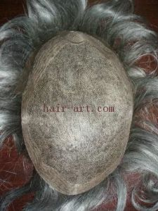 Remy Indian Hair - Toupee with Welded Net pictures & photos