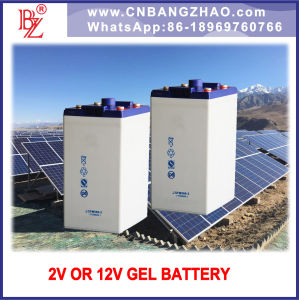 Standalone Backup Gel Battery for Solar-Wind System pictures & photos