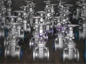 ANSI Cast Steel Gate Valve (Z41H-150LB/300LB/600LB) pictures & photos