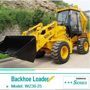 Hot Sale Wz30-25 Backhoe Loader