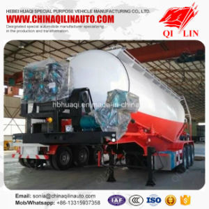 Fly Ash Transport Tank Trailer with CCC ISO Certificate pictures & photos