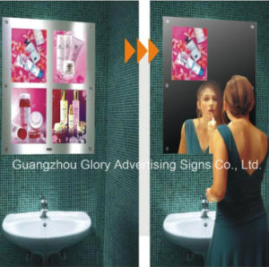 Magic Mirror with LED Motion Sensor Light Box pictures & photos