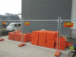 2100mm X 2400mm Hot Dipped Galvanized Temporary Fencing Panels pictures & photos