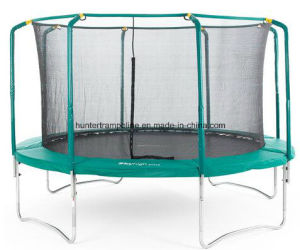 10FT Sport, Fitness, Outdoor Hunter Trampoline with Safety Enclosure pictures & photos