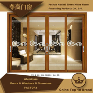 Aluminum/Aluminium Sliding Door Model Z-039 pictures & photos