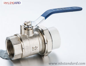 Brass Ball Valve for PPR Pipe/Brass Valve with Female Thread pictures & photos