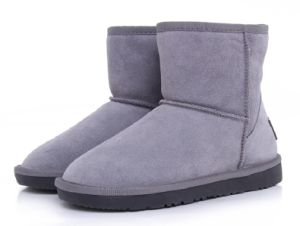 Fleece Leather Winter Boot Hot Sell