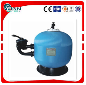 High Flow Water Filtration System Stainless Steel/Fiberglass Swimming SPA Pool Side-Mount Valve Sand Filter with Cheapest Price pictures & photos
