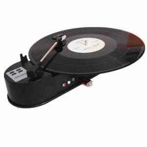 USB Portable Mini Record Player Converts 33rpm Vinyl Lp Turntables Audio to Digital MP3 Save MP3 File Into USB Flash/HDD, Phonograph Vinyl Record Player