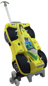 F1 Racing Cars Kids EVA Travel Trolley Luggage Bag pictures & photos