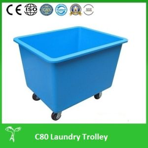 Professional Laundry Trolley, Laundry Trolley (C80) Professional Laundry Cart pictures & photos