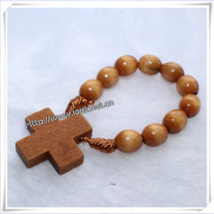 Finger Fing, Wooden Oval Rosary Finger Ring (IO-CE002) pictures & photos