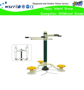 Three Unit Twisting Waist Outdoor Fitness Machine (HD-17402) pictures & photos