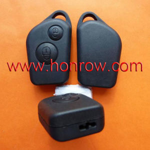 Citroen Elysee 2 Button Remote Key Blank (Can&can′t insert key blade)