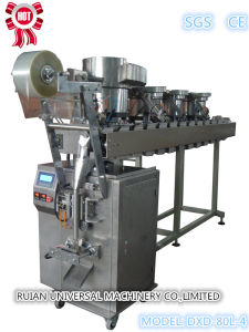 Full Automatic Hardware Screw Packing Machine with 4 Disks (DXD-80L-4) pictures & photos