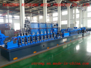 Wg32 Straight Seam High Frequency Cold Roll Forming Machine pictures & photos