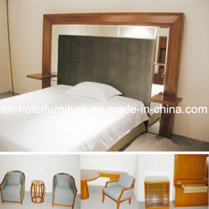 2014 Kingsize Luxury Chinese Wooden Restaurant Hotel Bedroom Furniture (GLB-90008) pictures & photos