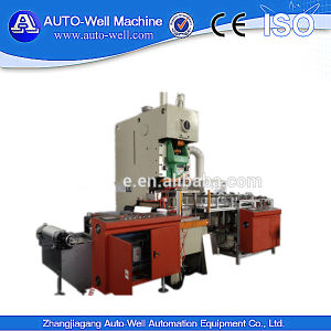 Yangli Brand Press Machine+Auto Feeder for Alu Foil Food Container Production Line pictures & photos