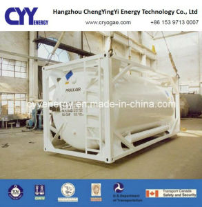 High Quality High Pressure LNG Lox Lin Lar Lco2 Tank Container pictures & photos